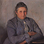 Zinaida Serebryakova - Portrait of E. N. Lancere, the mother of the painter