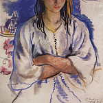 Zinaida Serebryakova - The Jewish girl from Sefrou