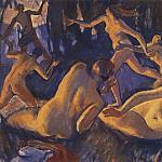 Zinaida Serebryakova - Diana and Actaeon