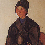 Portrait of a boy, Zinaida Serebryakova