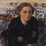 Zinaida Serebryakova - Portrait of daughter Katya