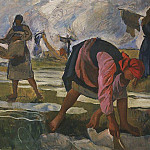 Zinaida Serebryakova - Bleaching of canvas 2
