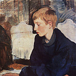 Zinaida Serebryakova - Zhenya Portrait of a painter s son
