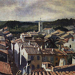 Cassis. The roofs of the city, Zinaida Serebryakova
