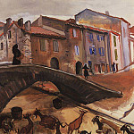 Zinaida Serebryakova - Collioure. The bridge with goats
