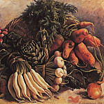Still life with vegetables, Zinaida Serebryakova