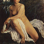 The bather, Zinaida Serebryakova