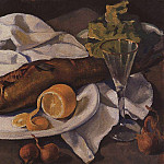 Zinaida Serebryakova - Herring and Lemon