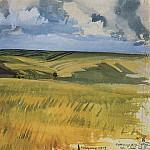 Neskuchnoye, the fields, Zinaida Serebryakova