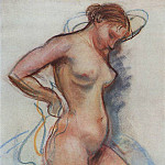 Zinaida Serebryakova - A woman coming out of the bath