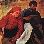 Kuzma Sergeevich Petrov-Vodkin - The peasants. Dinner