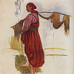 Zinaida Serebryakova - A woman with a yoke
