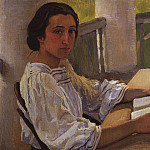 Zinaida Serebryakova - Portrait of M. E. Solntseva, sister of the painter
