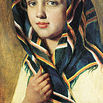 Alexey Venetsianov - Girl in a Shawl