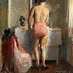 By the mirror, Vera Rockline