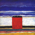 Kazimir Malevich - malevich_the_red_house_c1932