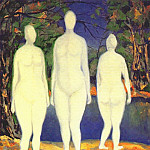 Рерих Н.К. (Часть 4) - malevich_bathing_women_dated-1908