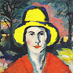 Kazimir Malevich - malevich_woman_with_yellow_hat_dated-1908