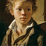 Vasily Tropinin - Portrait of Arseny Vasilievich Tropinin, son of the artist
