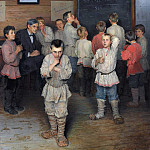 900 Classic russian paintings - Oral expense. In the folk school SA Rachinsky