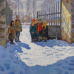 March Sunshine, Nikolai Petrovich Bogdanov-Belsky