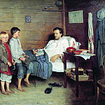 The patient teacher, Nikolai Petrovich Bogdanov-Belsky
