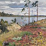 The river Daugava, Nikolai Petrovich Bogdanov-Belsky