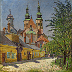 View of a Church, Nikolai Petrovich Bogdanov-Belsky