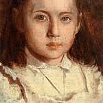 Ivan Kramskoy - Portrait of Sonya Kramskaya the Artist-s Daughter