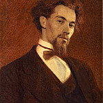 Portrait of the Artist Konstantin Savitsky, Konstantin Savitsky