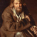 Ivan Kramskoy - 1872 Portrait of an Old Peasant (study)