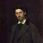 1876 Portrait of the Artist Ilya Repin, Ilya Repin