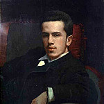 Ivan Kramskoy - 1880 Portrait of Anatoly Kramskoy, the Artists Son