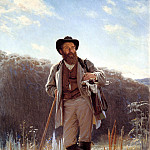 Ivan Kramskoy - Portrait of the Artist Ivan Shishkin