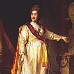 Catherine II as legislatress in temple of goddess of justice, Dmitry Levitsky (Levitzky)