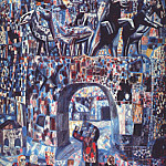 Pavel Filonov - filonov_the_narva_gates_1929