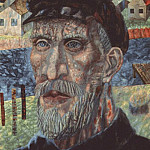 Павел Филонов - filonov_a_collective_farmer_1931