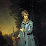 Vladimir Borovikovsky - Портрет императрицы Екатерины II в парке [Vladimir Borovikovskiy - Portrait of Catherine II, Empress of Russia in the Park]