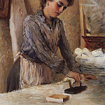 Konstantin Makovsky - The ironer