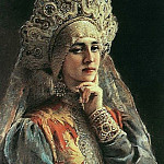 Konstantin Makovsky - Russian Beauty
