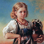 Konstantin Makovsky - Girl with a jug