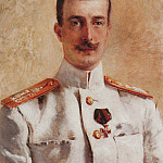 Konstantin Makovsky - Portrait of Grand Duke Kirill Vladimirovich, the eldest son of Grand Duke Vladimir Alexandrovich, brother of Emperor Alexander III