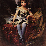 Konstantin Makovsky - Child portrait