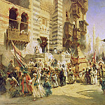Konstantin Makovsky - The handing over of the Sacred Carpet in Cairo
