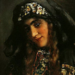 Konstantin Makovsky - Girl in oriental clothes