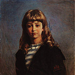 Konstantin Makovsky - Seryozha (Portrait of son in a sailor suit)