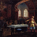 Konstantin Makovsky - Prince Repnin at the feast at Ivan the Terrible