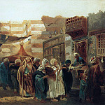 900 Classic russian paintings - East funeral in Cairo