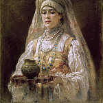 Konstantin Makovsky - A Cup of Honey