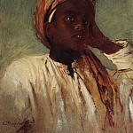 Vasily Perov - Young Arab